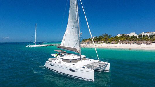 1 - HighRes - Gypse - Private tour to Isla Mujeres in catamaran - Cancun Sailing