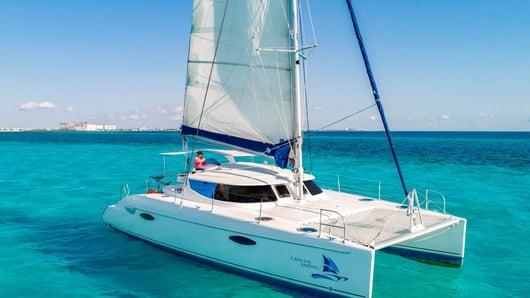 6 - LoRes - Kendo - Isla Mujeres Catamaran Tour - Cancun Sailing