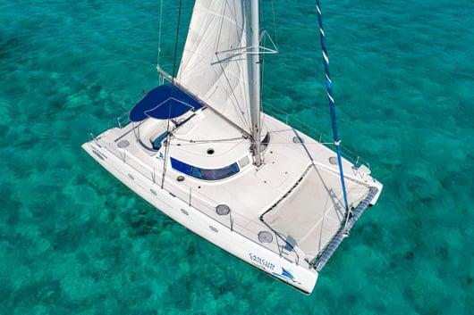 3 - HiRes - Lady Caroline - Isla Mujeres Catamaran Tour - Cancun Sailing