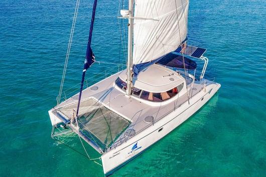 2 - HiRes - Mango - Isla Mujeres Catamaran Tour - Cancun Sailing