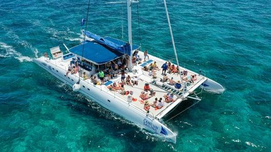 15 - LoRes - Private Isla Mujeres tour in catamaran - Sea Passion I II - Cancun Sailing