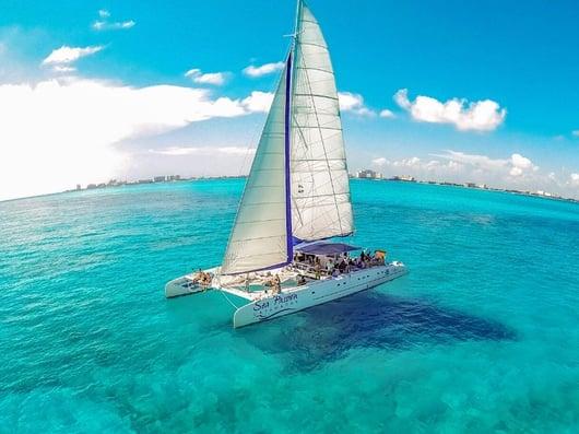 Sea Passion II 800x600 - Isla Mujeres Catamaran Tour - Cancun Sailing