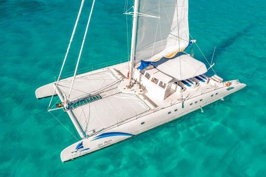 6 - HiRes - Sea Passion III - Isla Mujeres Catamaran Tour - Cancun Sailing